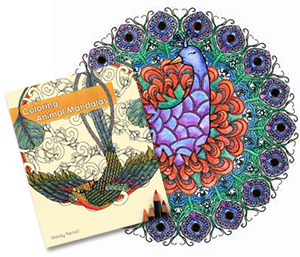 Buy my new coloring book for adults - Coloring Animal Mandalas published by Ulysses Press!