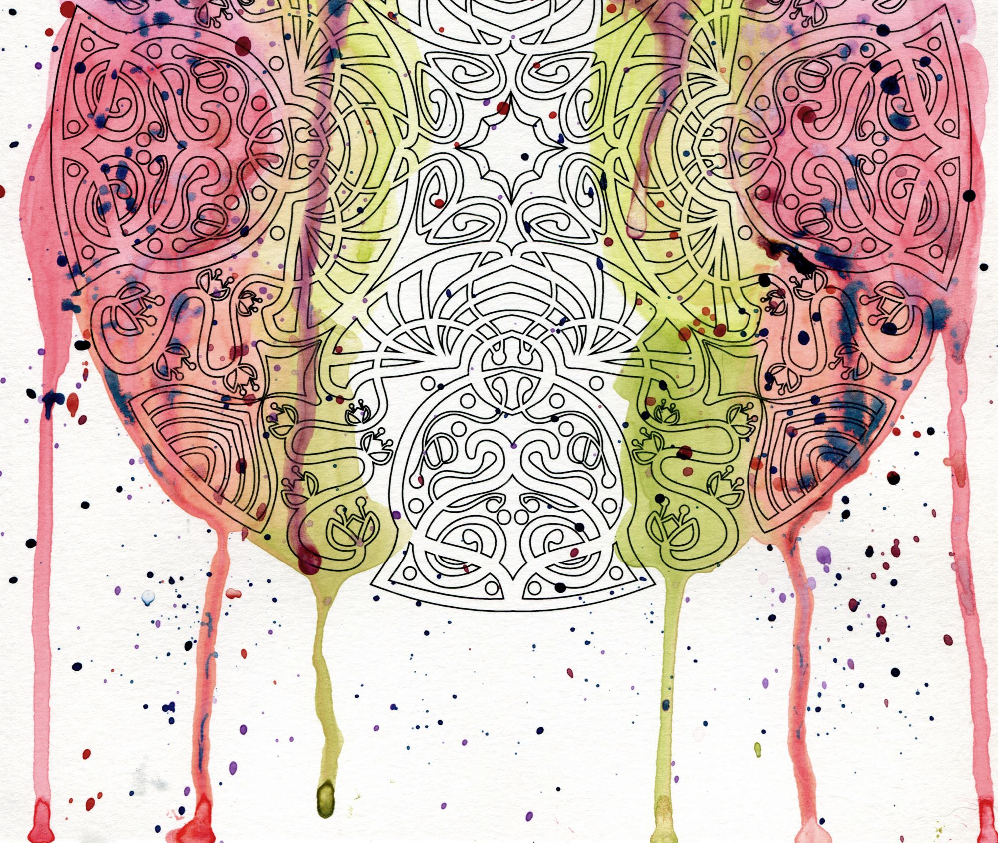 Colour book edges - Wendypiersall Com