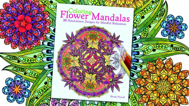 Flower Mandalas Coloring Book Coming in 2015! | WendyPiersall.com