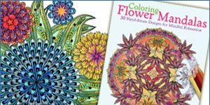 Coloring Flower Mandalas published by Ulysses Press!