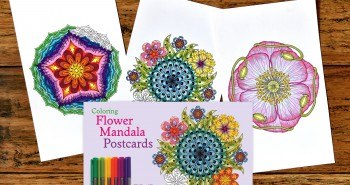 Next PostColoring Flower Mandala POSTCARDS Are Coming Soon