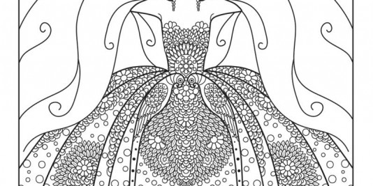 The Masters Of Fashion Illustration Adult Coloring Book A Look